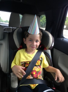 Riley party hat
